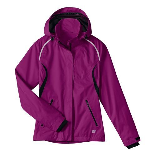 Womens R-Gear Best Defense GORE-TEX Outerwear Jackets - Wild Orchid/Black L