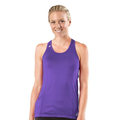 Womens R-Gear Runner's High Singlet Technical Tops - Love-Me Lavender L