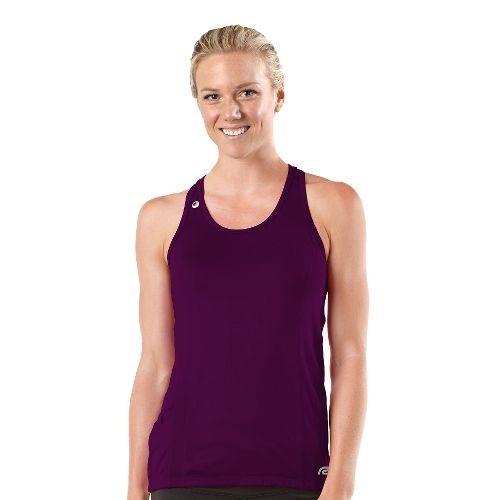 Womens R-Gear Runner's High Singlet Technical Tops - Mulberry Madness/Passion Punch M