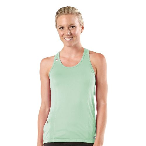 Womens R-Gear Runner's High Singlet Technical Tops - Mintify S