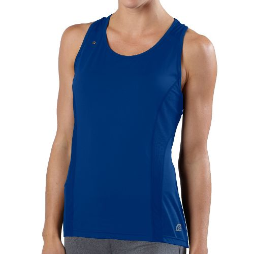 Womens R-Gear Runner's High Singlet Technical Tops - Pacific Blue L