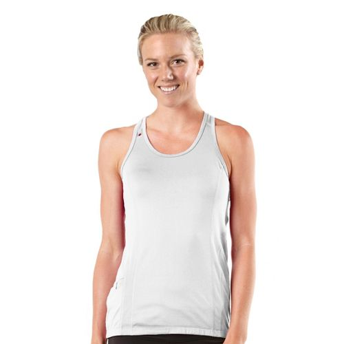 Womens R-Gear Runner's High Singlet Technical Tops - White M
