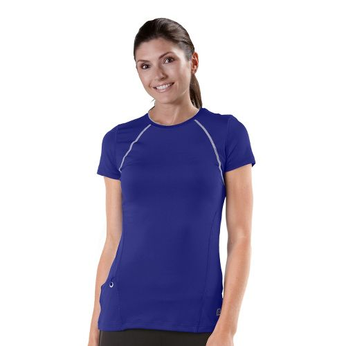 Womens R-Gear Perfect Run Short Sleeve Technical Tops - Bright Iris XL