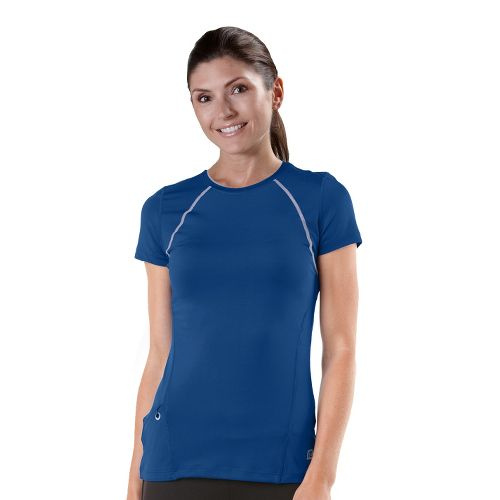 Womens R-Gear Perfect Run Short Sleeve Technical Tops - Pacific Blue L