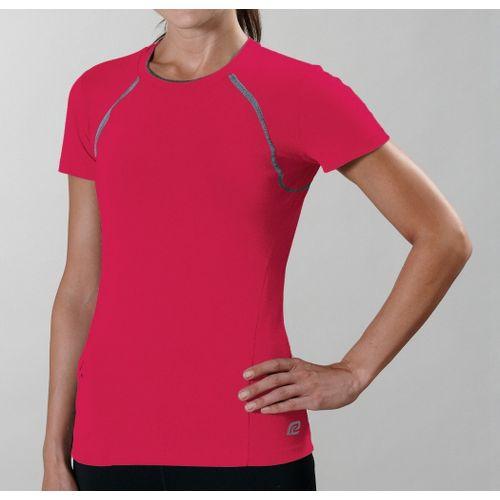 Womens R-Gear Perfect Run Short Sleeve Technical Tops - Watermelon L