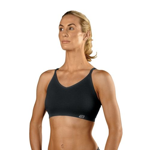 Womens ROAD RUNNER SPORTS Undercover Seamless Cami Inner Bras - Black M