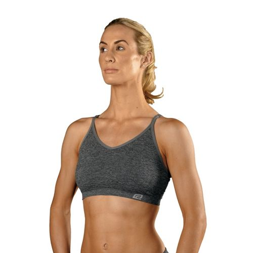 Womens ROAD RUNNER SPORTS Undercover Seamless Cami Inner Bras - Heather Grey L