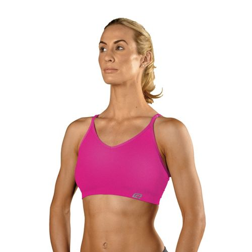Womens ROAD RUNNER SPORTS Undercover Seamless Cami Inner Bras - Passion Punch L