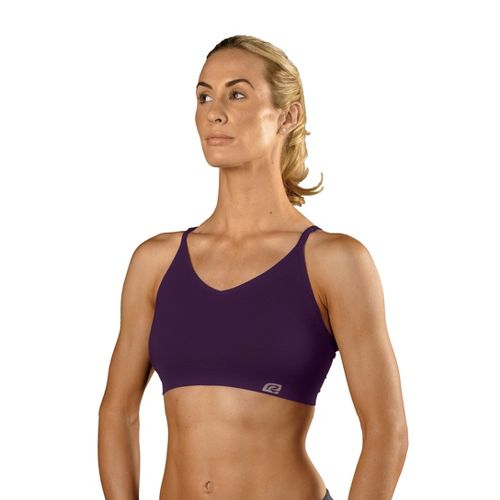 Womens ROAD RUNNER SPORTS Undercover Seamless Cami Inner Bras - Plum Pop L