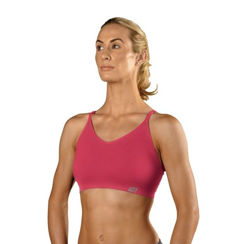 Womens ROAD RUNNER SPORTS Undercover Seamless Cami Inner Bras - Ruby Pink M