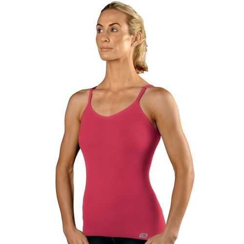 Womens R-Gear Undercover Seamless Cami Inner Bras - Ruby Pink L