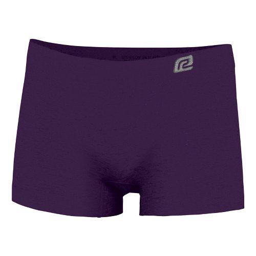 Womens R-Gear Undercover Seamless Boy Short Underwear Bottoms - Plum Pop L
