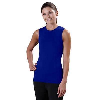 Womens Road Runner Sports Feel Great Seamless Sleeveless Technical Tops
