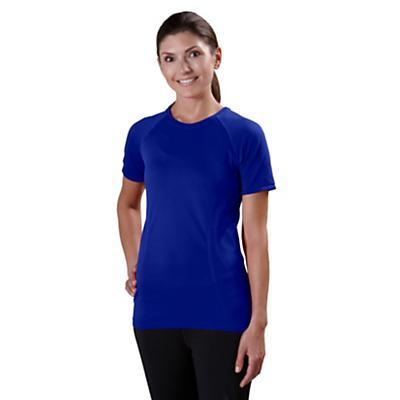 Womens Road Runner Sports Feel Great Seamless Short Sleeve Technical Tops