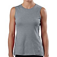 Womens Road Runner Sports Run, Walk, Play Crew Sleeveless Technical Tops