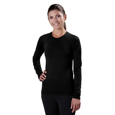 Womens Road Runner Sports Feel Great Seamless Long Sleeve No Zip Technical Tops