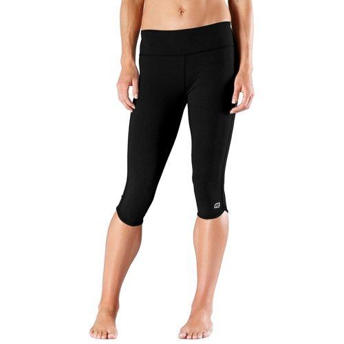 Womens R-Gear Free Form Tight Capri Pants - Black L
