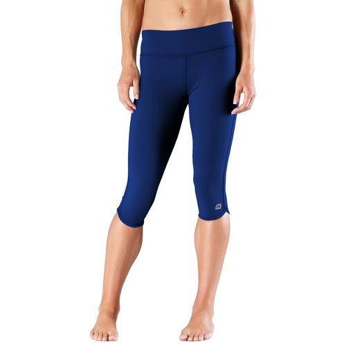 Womens R-Gear Free Form Tight Capri Pants - Bright Iris XS