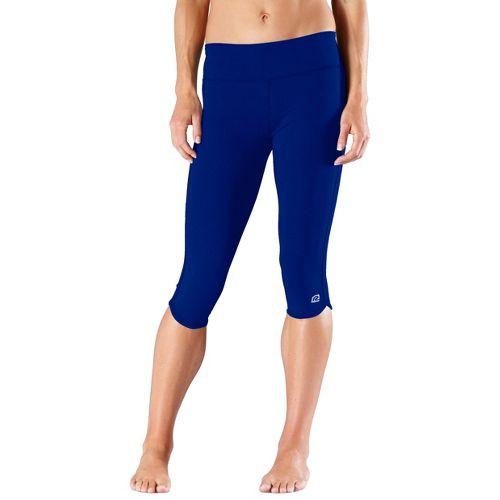 Womens R-Gear Free Form Tight Capri Pants - Pacific Blue XS