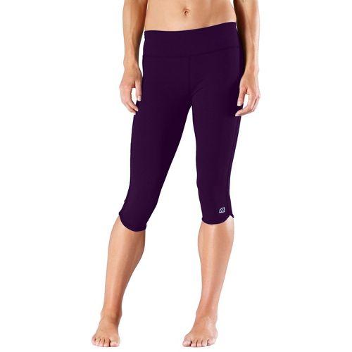 Womens R-Gear Free Form Tight Capri Pants - Plum Pop S