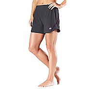 "Womens Road Runner Sports Double Your Fun 2-in-1 4"" Shorts"
