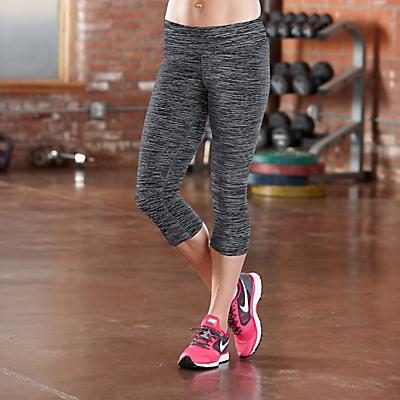 """Womens R-Gear Leg Up 19"""" Capri Legging Pants"""