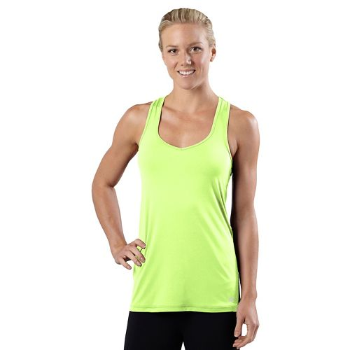 Womens R-Gear Shades of Grey Tank Technical Top - Lemon Lime L