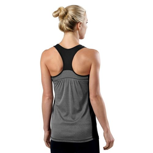 Womens R-Gear Shades of Grey Tank Technical Top - Black/Heather Charcoal S
