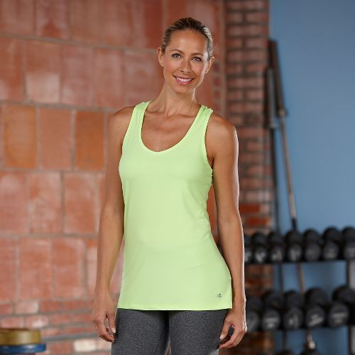 Womens R-Gear Shades of Grey Tank Technical Top - Lemon Lime S