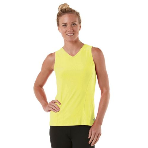 Womens R-Gear Runner's High Sleeveless Technical Tops - Citron M