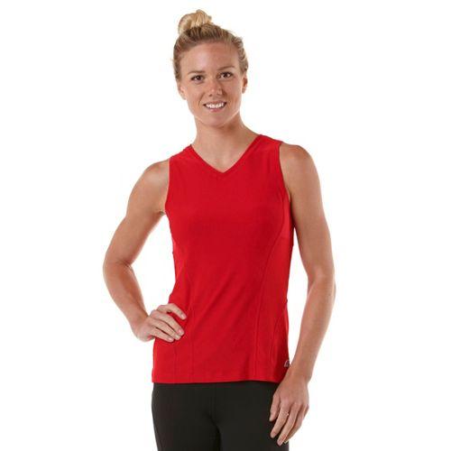Womens R-Gear Runner's High Sleeveless Technical Tops - Firefly Red S