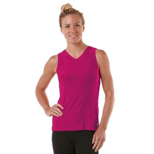 Womens R-Gear Runner's High Sleeveless Technical Tops - Pink Berry S