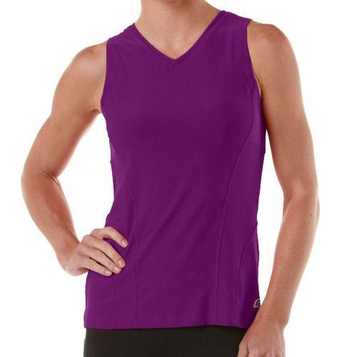 Womens R-Gear Runner's High Sleeveless Technical Tops - Purple Shock XL