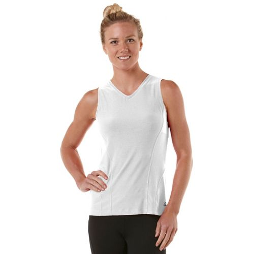 Womens R-Gear Runner's High Sleeveless Technical Tops - White S