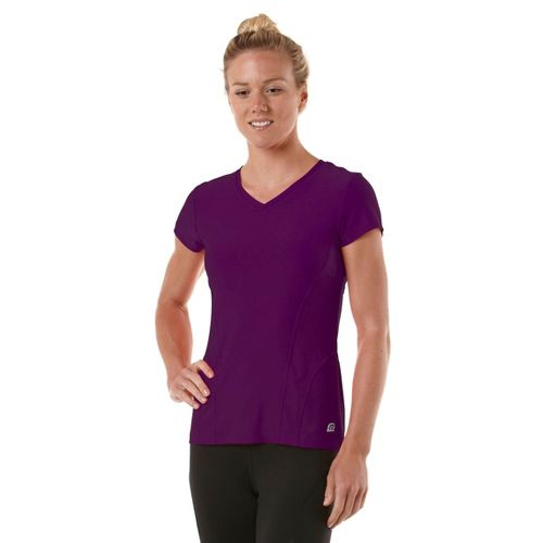 Womens R-Gear Runner's High Short Sleeve Technical Tops - Plum Crazy XS