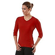 Womens R-Gear Runner's High 3/4 Sleeve Long Sleeve No Zip Technical Tops