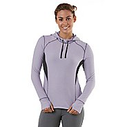 Womens R-Gear On The Run Stripe Hoodie Long Sleeve No Zip Technical Tops
