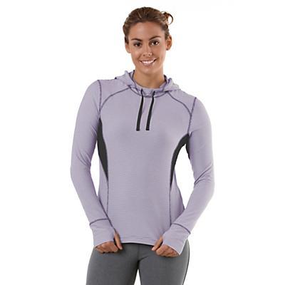 Womens R-Gear On The Run Stripe Hoodie Long Sleeve No Zip Technical Tops