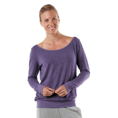 Womens R-Gear Flashback Long Sleeve Non-Technical Tops - Heather Plum Pop L