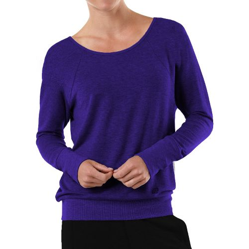 Womens R-Gear Flashback Long Sleeve Non-Technical Tops - Plum Pop M