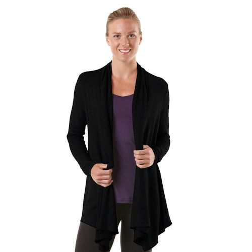 Womens R-Gear Out & About Cardi Long Sleeve Non-Technical Tops - Black M