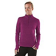 Womens R-Gear Total Softy Wool Long Sleeve 1/2 Zip Technical Tops