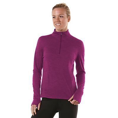 Womens R-Gear Total Softy Wool Long Sleeve 1/2 Zip Technical Tops