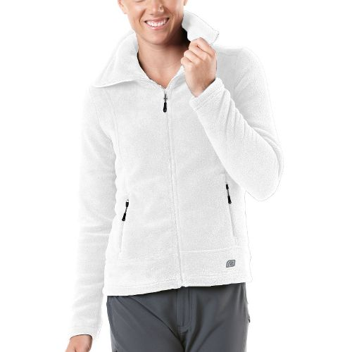 Womens R-Gear Pure Plush Fleece Outerwear Jackets - Ghost M