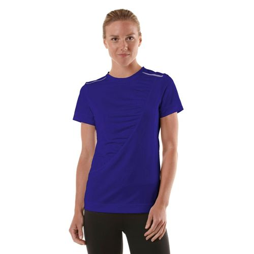 Womens R-Gear Scene Stealer Short Sleeve Technical Tops - Bright Iris XS