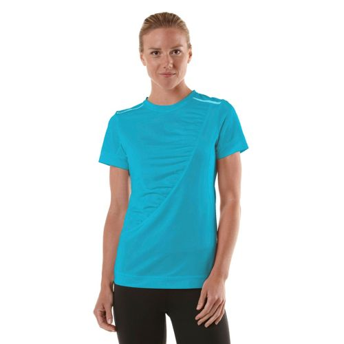 Womens R-Gear Scene Stealer Short Sleeve Technical Tops - Sea Glass Blue XS