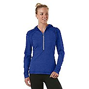 Womens R-Gear Fly Girl Half-Zip Hoodie Long Sleeve 1/2 Zip Technical Tops