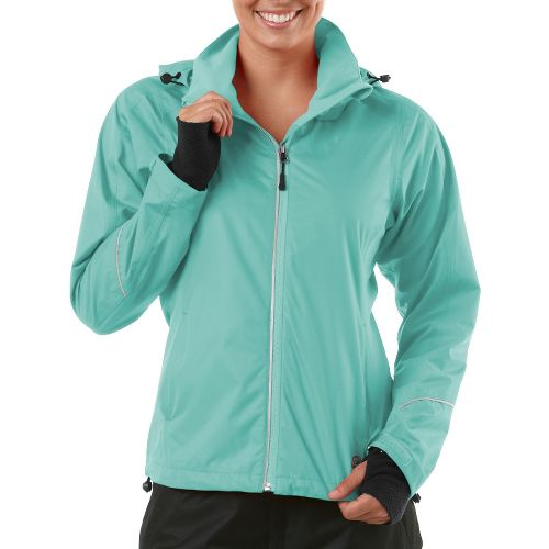 Womens R-Gear In Your Element Rain Outerwear Jackets - Aqua Splash L