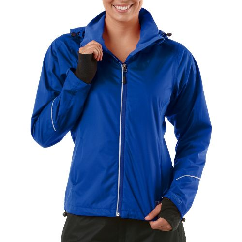 Womens R-Gear In Your Element Rain Outerwear Jackets - Bright Iris XL