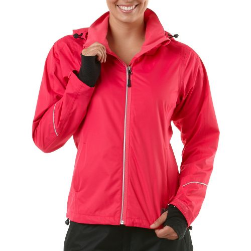Womens R-Gear In Your Element Rain Outerwear Jackets - Haute Pink XS